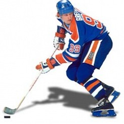 Les épaules de Wayne Gretzky